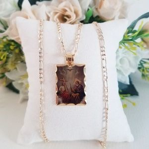 Trinity Picture Necklace